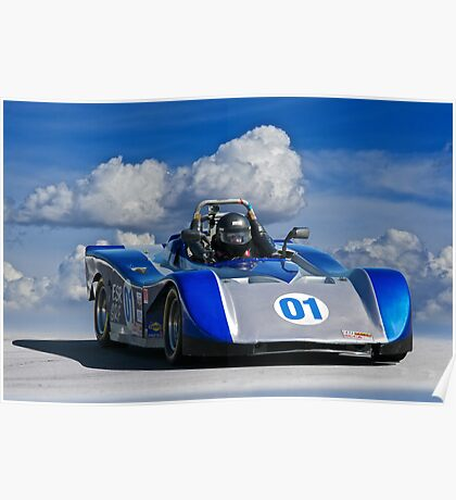 SCCA Racecar SRF Poster
