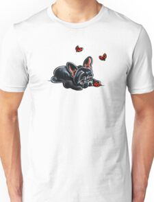 French Bulldog Ladybug Unisex T-Shirt