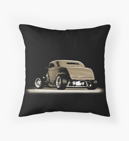 1932 Roadster (sepia) © Throw Pillow