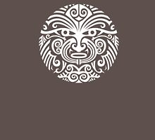 Maori tattoo face - white Unisex T-Shirt