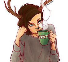 Deer Lou by girlwiththetea