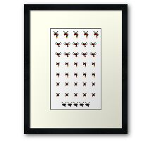 The Unending Flight Group Framed Print