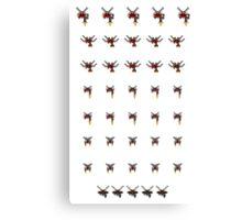 The Unending Flight Group Canvas Print