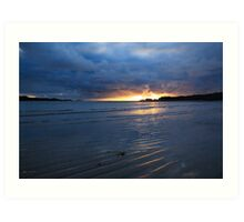 Glencolmcille Sunset Art Print