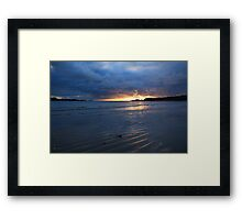 Glencolmcille Sunset Framed Print