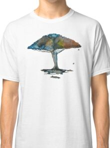 Colored tree in a tranquil breeze Classic T-Shirt