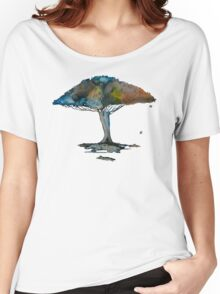 Colored tree in a tranquil breeze Women's Relaxed Fit T-Shirt