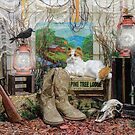 The Ranchers Cat by wiscbackroadz