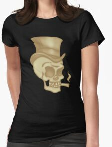 Skull3 Womens Fitted T-Shirt