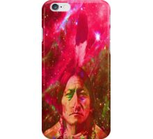 Ghost of Sitting Bull iPhone Case/Skin