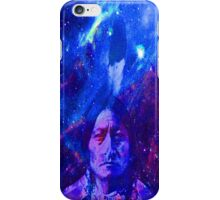 Sitting Bull-Cosmic Stars iPhone Case/Skin