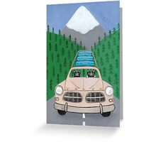 Pacific Northwest Road Trip Greeting Card