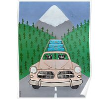 Pacific Northwest Road Trip Poster