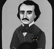 Poe's Black Cat by Ryan Conners