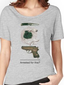 Arrested for this? Women's Relaxed Fit T-Shirt