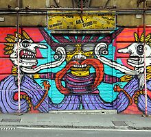 All About Italy. Piece 1 - Genoa Street Art by Igor Shrayer