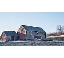 Faithful Old Barn Photographic Print