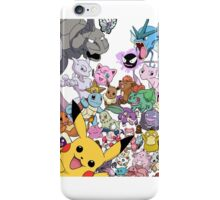 Pokemon! iPhone Case/Skin
