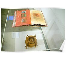 Book of Threads & Belly Bound (Exhibit Display) Poster