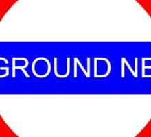 It's an underground network! Sticker