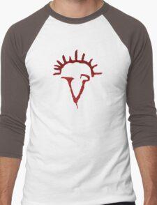 Angel Siren Red Men's Baseball ¾ T-Shirt