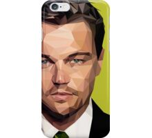 Leonardo DiCaprio Triangulation Vector iPhone Case/Skin
