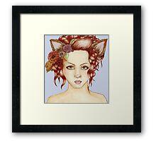 Wolf Kate Framed Print