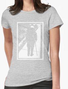 A Long Walk - Dark Womens Fitted T-Shirt