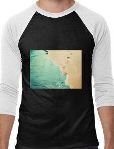 summer love Men's Baseball ¾ T-Shirt