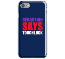 "Vettel ""Tough Luck"" iPhone Case/Skin"