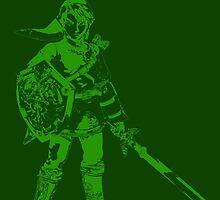 Link Minimalist Green by jamden37