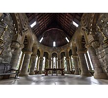 St Conans Kirk Church - Scotland Photographic Print