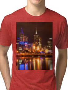 City Lights Tri-blend T-Shirt