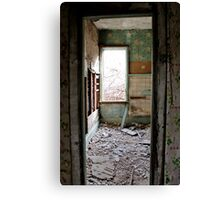 Renovations are Overrated! Canvas Print