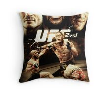 Fantasy Fight Poster Throw Pillow