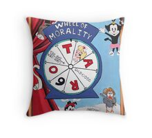 The Wheel of Fortune Throw Pillow
