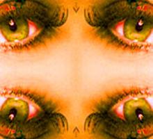 Eyes of a Mirror Sticker