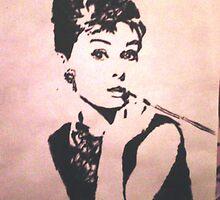 Audrey Hepburn    by toopi123