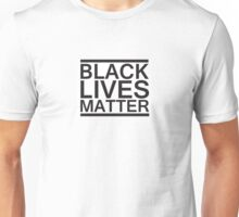 Black Lives Matter Bold Unisex T-Shirt