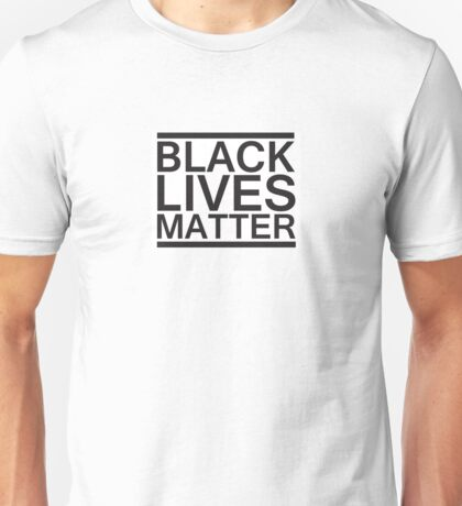 Black Lives Matter Bold Unisex T-Shirt