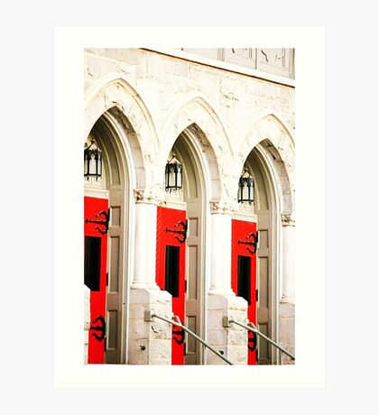 Doors: Phone cases, iPad Cases, and iPod Cases Art Print