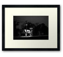 Xmas at the Shady Grove Framed Print