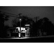 Xmas at the Shady Grove Photographic Print