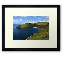 Keem Beach, Achill Island. Framed Print