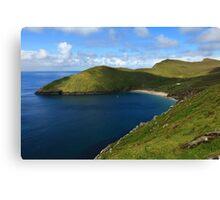 Keem Beach, Achill Island. Canvas Print