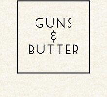 Guns and Butter (Guns or Butter Parody) Hoodie
