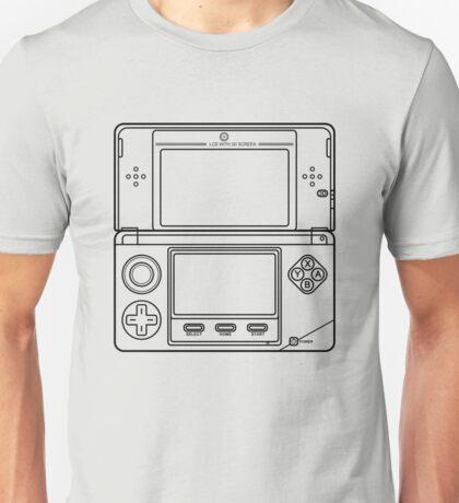 Three-Dimensional Game Machine Unisex T-Shirt