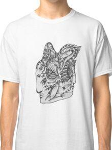Hand Drawn Spiritual Warrior Tees Classic T-Shirt