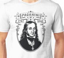 Paganini for dark shirts Unisex T-Shirt