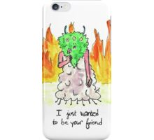 Sad Monster Friend iPhone Case/Skin